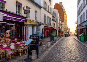 Parisian Hotel Road - Food & Dating