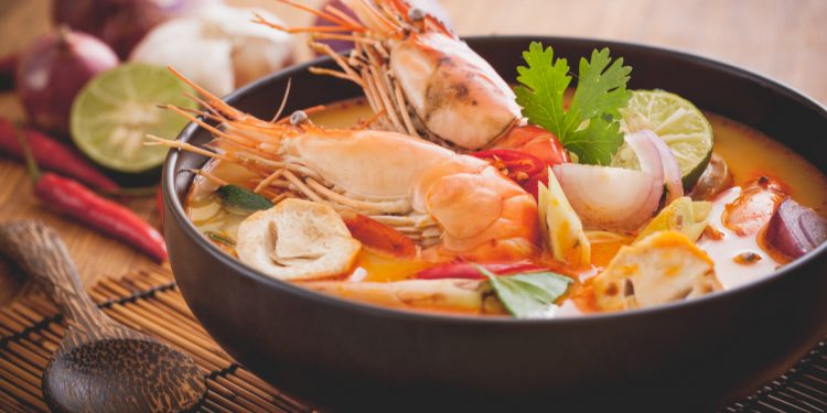 authentic tom yum recipe soup