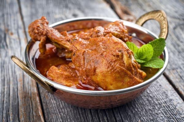 chicken tikka recipe masala  in a bowl