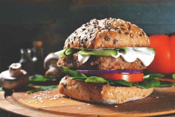 Burgerville-Vegi-Bean Burger
