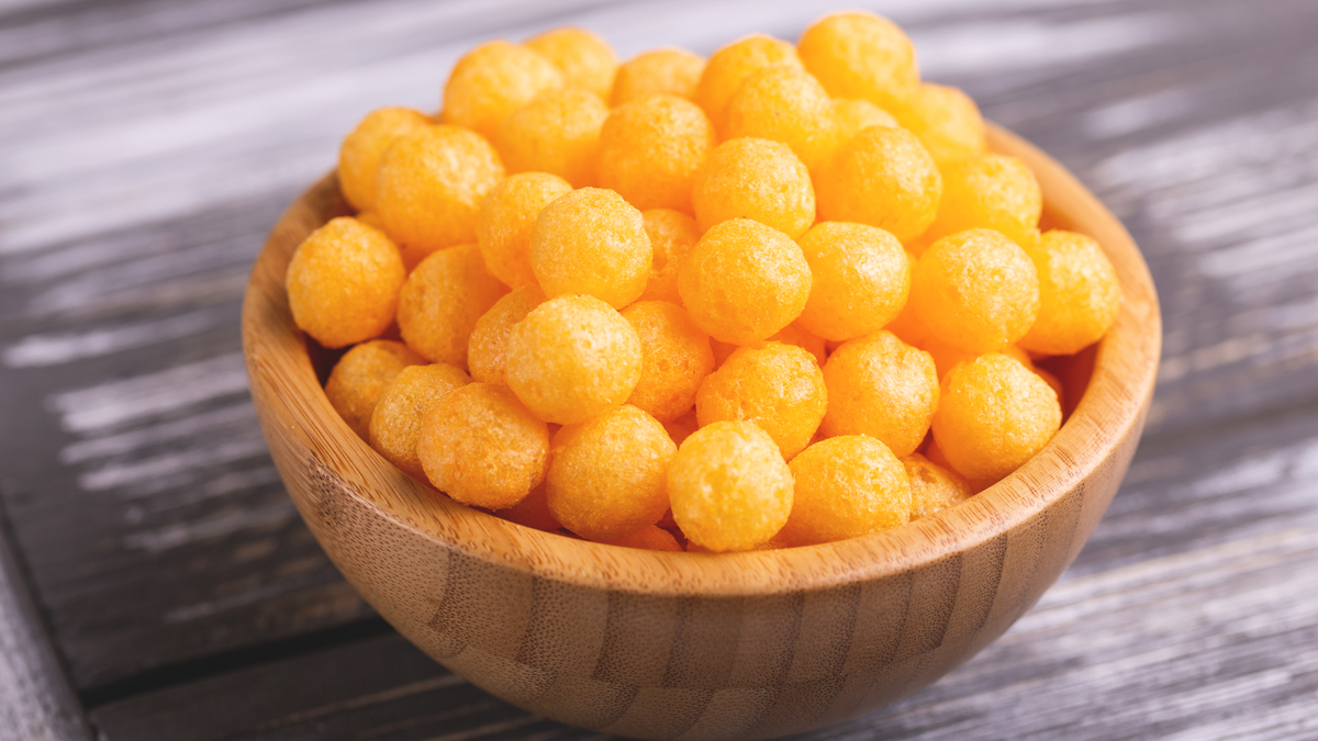 Simple Cheddar Cheese Puffs Recipe for Movie Night